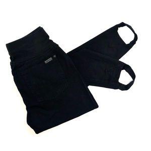 7 For all Mankind Black Jeans Jeggings Large